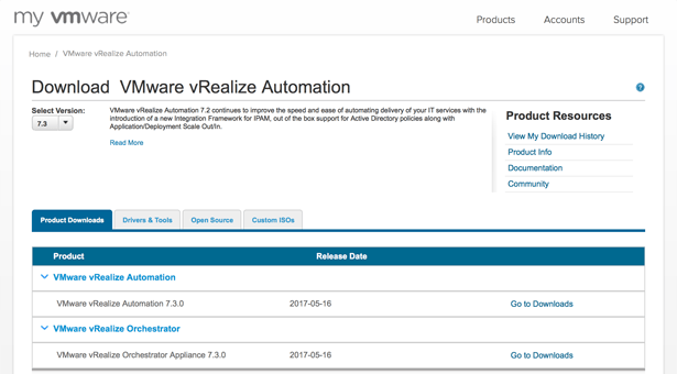 VMware vRealize Automation 7.3 is available now