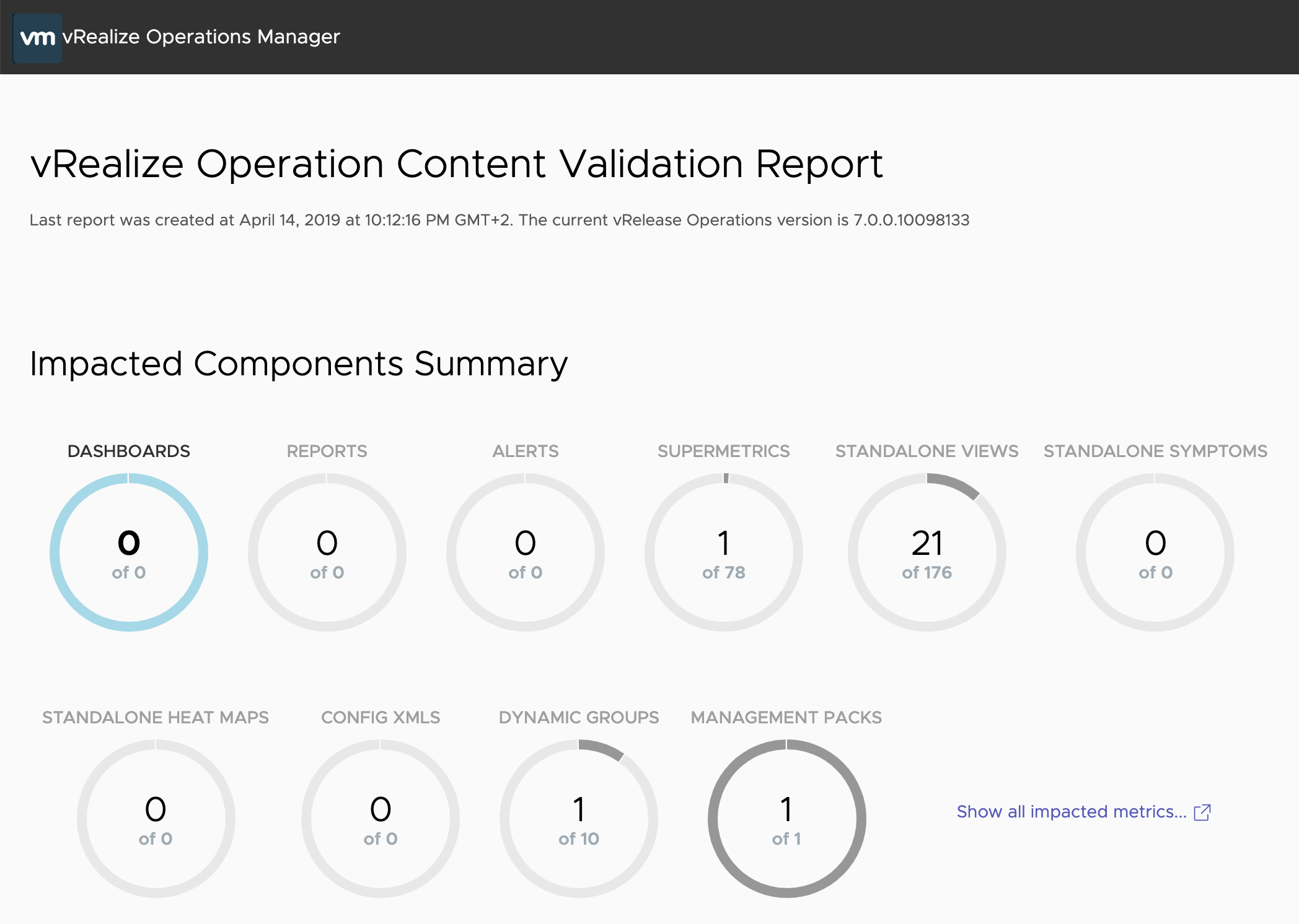 Upgrade to vRealize Operations 7 5 in six easy steps