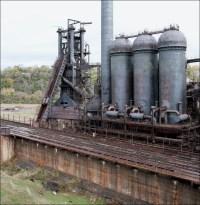 Carrie Furnace, blast furnace no.7