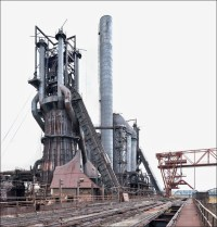 Carrie Furnace, blast furnace highline
