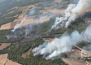 Campanya d'incendi forestal 2015