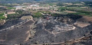 Incendi Alt Empordà juliol 2012
