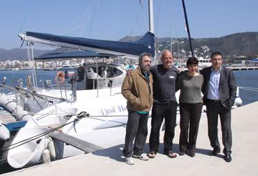 Conveni Projecte NINAM - Port esportiu de Roses