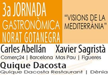 3ª Jornada Gastronòmica Norat Gotanegra