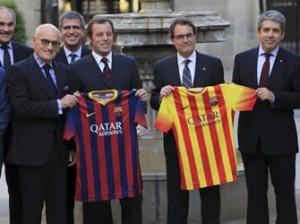 Nova equipació del F.C. Barcelona