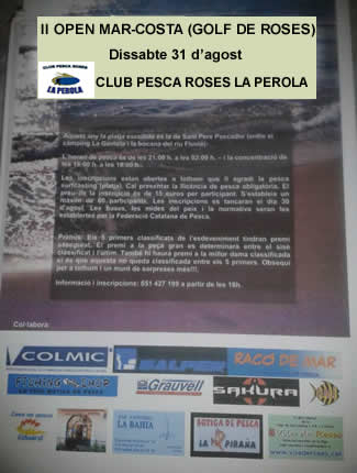 Open de Pesca Mar-Costa Golf de Roses