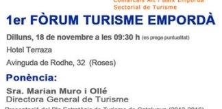 1r Fòrum Turisme Empordà de Roses