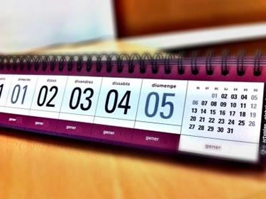 Calendari de festes laborals 2015