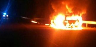 Cotxe incendiat