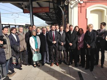 Nova línia RG1 de rodalia de Girona,