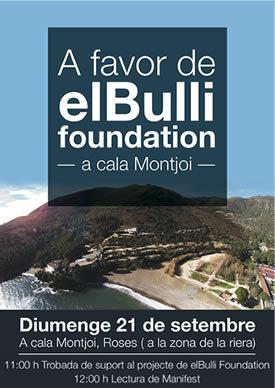 Trobada de suport a elBulli Foundation