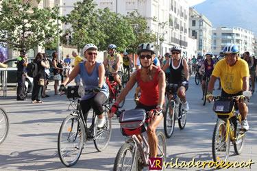 XXVII Bicicletada Popular de Roses