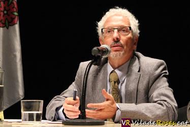Conferència de Santiago Vidal a Roses