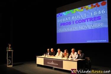 Debat elBulli Foundation al Teatre de Roses