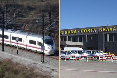 Connexió TAV - Aeroport de Girona