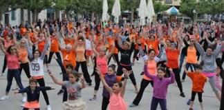 IV Flashmob de la Fundació Roses contra el Càncer