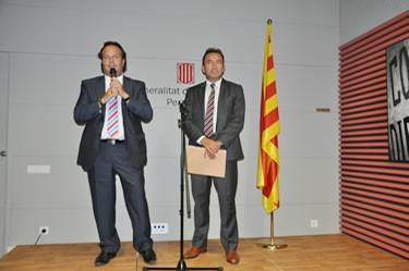 Diada a la Casa de la Generalitat a Perpinyà