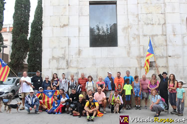 Pujada patriòtica al Puig de l'Àliga
