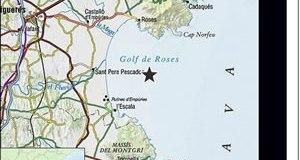 Terratrèmol al Golf de Roses
