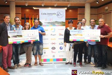 Hotel Cala Jòncols entrega xec solidaris