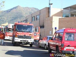 Incendi al col·legi Els Grecs de Roses