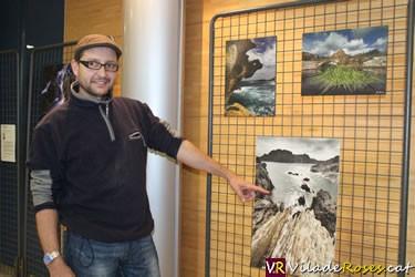 Exposició a l'Oficina de Turisme de Roses