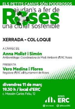 ERC Roses i la ciutat sostenible