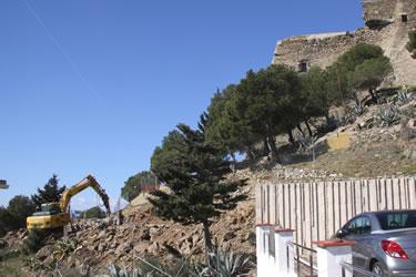 Nou aparcament Castell de la Trinitat