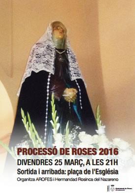 Processó del Silenci de Divendres Sant de Roses
