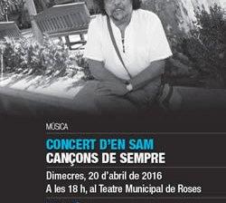 """""""Cançons de Sempre"""" amb en Sam"""