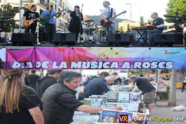 Dia de la Música i Fira del Disc de Roses