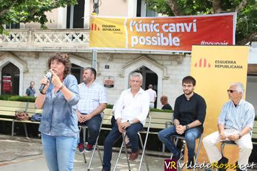 Acte de campanya electoral del 26-J d'ERC