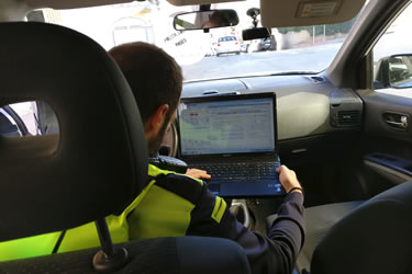 Nova tecnologia al servei de la Policia Local de Roses