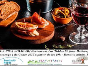 Pica-pica solidari del restaurant Las Tablas de Roses