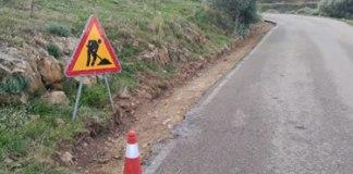 Nova cuneta a la carretera de Montjoi
