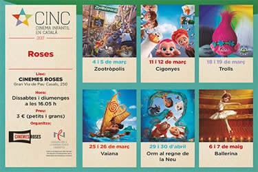 CINC, Cinema Infantil en Català