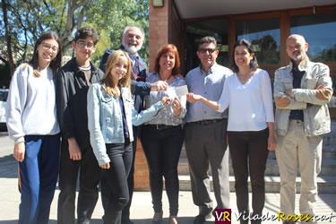 Centre Escolar Empordà dóna 600 € a Càritas Roses
