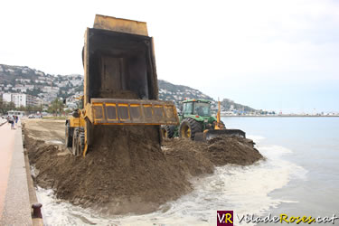 Regeneració de la platja