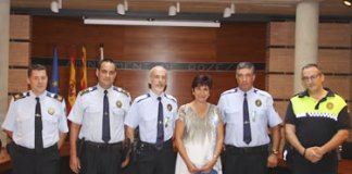 Medalles de permanència a la Policia Local de Roses