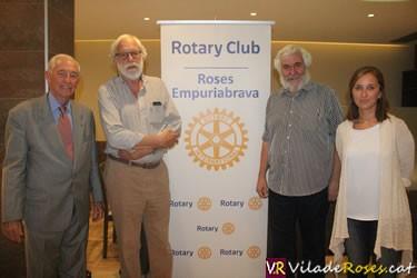 El Rotary Club i la Creu Roja, junts per ajudar als més necessitats