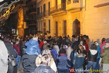 Concentració per la repressió de l'Estat espanyol