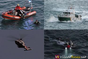 Submarinista desaparegut a Punta Falconera