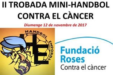 II Trobada de Mini-Handbol a Roses