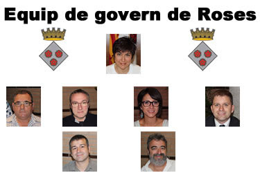 Equip de govern de Roses