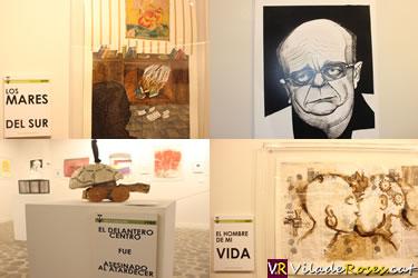 Roses homenatja a Manuel Vázquez Montalbán