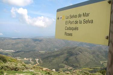 Senyalització als espais naturals protegits