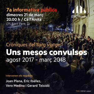 7ª informativa pública d'ERC Roses
