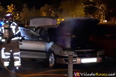 Segon cotxe incendiat del mateix propietari