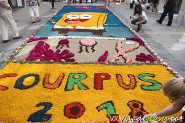 Festivitat del Corpus a Roses