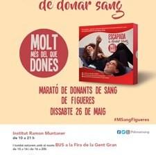 Marató de donació de sang a Figueres